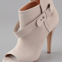 Maison Martin Margiela Open Toe Booties | SHOPBOP