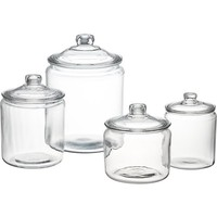 Heritage Hill Glass Jars with Lids