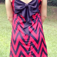 Gamecock Chevron Dress