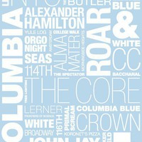 Columbia University Pride Print  - Wall