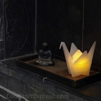 Origami Crane Led Light