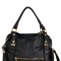 ModCloth Every Day, Everywhere Bag in Black