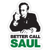 Saul Sticker by shakdesign