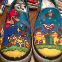 Mario Shoe by opethblue on Etsy