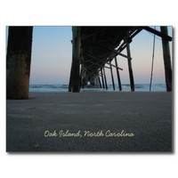 At Sea Level - Oak Island, NC Post Cards