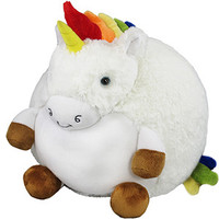 Squishable Rainbow Unicorn: An Adorable Fuzzy Plush to Snurfle and Squeeze!