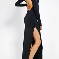 Urban Outfitters - Black Wednesday Morticia Maxi Dress