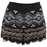 Embellished Knicker Short