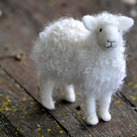 Needle Felting Classes Online - DIY Flock of 3 sheep