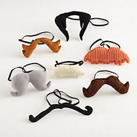 Kid's Imaginary: Elastic Band Mustaches in Nod Exclusives | The Land of Nod