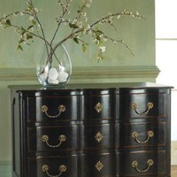 Large Tuscan Chest Antique Black Finish