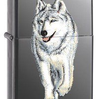 Zippo Wolf Black Ice Pocket Lighter