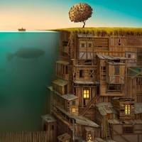 """Time"" - Art Print by Gediminas Pranckevicius"