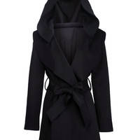 Hooded Trench Dress (RESTOCKS SOON)