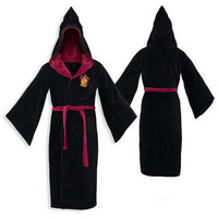 Harry Potter Gryffindor Terry Cloth Cotton Adult Bathrobe |