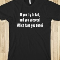 FAIL SUCCEED