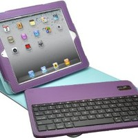 Aduro FACIO Case with Bluetooth Removable Keyboard for Apple iPad 2 / 3 & 4th Generations