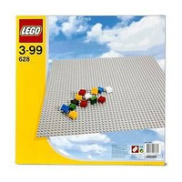 LEGO 628 Extra Large Grey Building Baseplate