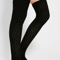 Honeycomb Over-The-Knee Sock