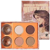 Benefit Cosmetics World Famous Neutrals - Most Glamorous Nudes Ever: Eye Sets & Palettes | Sephora