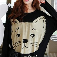 Cute Cat Sweater for Women