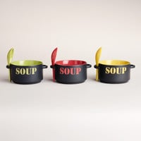"""Soup"" Bowl, Set of 3"