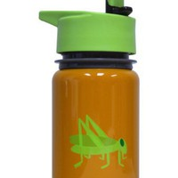 Eco Vessel Kids Stainless Steel Water Bottle with Flip Straw Top (13-Ounce)