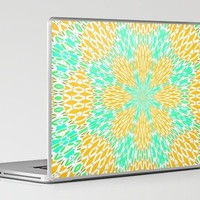 Aqua Oceania Laptop & iPad Skin by Lisa Argyropoulos | Society6