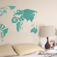 Surface Collective's Wall Tattoos / Wall Decals / Laptop Decals - Product - Global Geometry