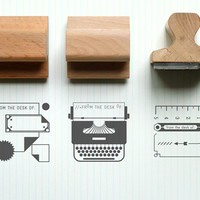 Present&Correct - Desk Rubber Stamps