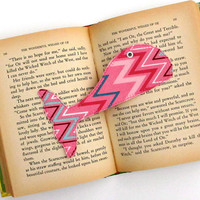 Bookmark, Whale Tail, Pink Whale, Bookmarker, Whale