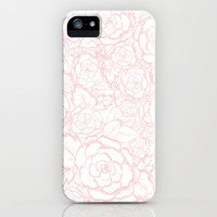 Pink Roses iPhone & iPod Case by Happiness is...