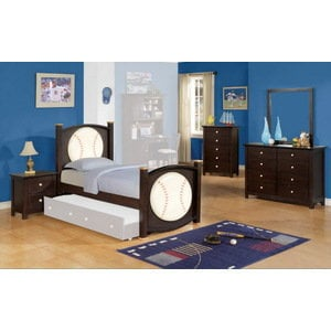 All Star Baseball 5 PC Bedroom Set In From Furniture NYC