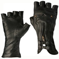 Steam Trunk Archery Leather Gloves :: Gloves - Leather :: Accessories :: Five & Diamond