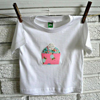 Cupcake Birthday Shirt /// Available in 12m by thepinkgiraffeshop