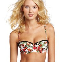Amazon.com: Seafolly Women's Tea Rose Bustier Bra: Clothing