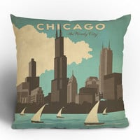 DENY Designs Home Accessories | Anderson Design Group Chicago Throw Pillow