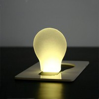 US$ 6.99, - Doulex Led Pocket Card Light Super Light ABS Ultra-thin (CEG055), Free Shipping On All Gadgets!
