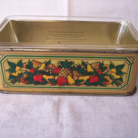 Vintage Pyrex Casserole Baking Dish with Metal by abbiesvintage