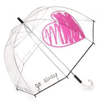 Felix Rey Rain Rain Go Away Clear Umbrella - Jewelry  Accessories - Bloomingdale&amp;#039;s