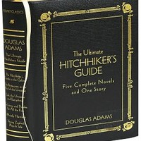 The Ultimate Hitchhiker's Guide Deluxe Edition (Barnes & Noble Leatherbound Classics), Barnes & Noble Leatherbound Classics Series, Douglas Adams, (9780517226957). Hardcover - Barnes & Noble
