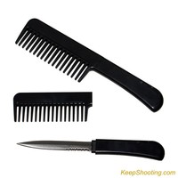 Hidden Comb Knife
