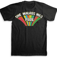 The Beatles T Shirt - The Walrus was Paul / White Album and Magical Mystery Tour Inspired  - Vintage Fashion - Graphic Tees for Men & Women