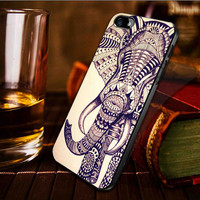 Elephant aztec -  iphone case cover- iPhone 4 / iPhone 4S / iPhone 5 / Samsung S2 / Samsung S3 / Samsung S4 Case Cover