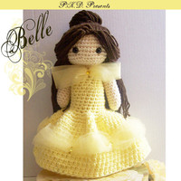 Crochet Doll  Belle  Special Edition  Ready by PeachyKeeneDesigns