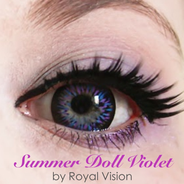 Royal Vision Summer Doll Violet From EyeCandy's
