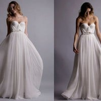 Natural White Annie Wedding Gown