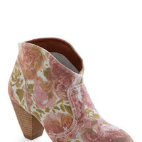 Rodeo So Refined Boot in Roses | Mod Retro Vintage Boots | ModCloth.com