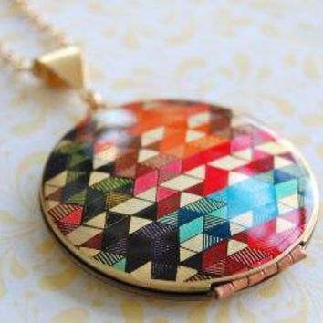 The Color Study II Locket Vintage Verabel FOX