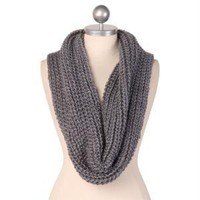 Classic Knit Tubular Scarf
